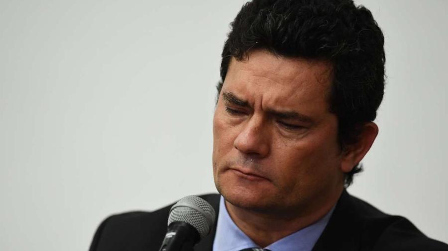 O ex-juiz e ex-ministro da Justiça Sergio Moro                              -                                 EVARISTO SA/AFP