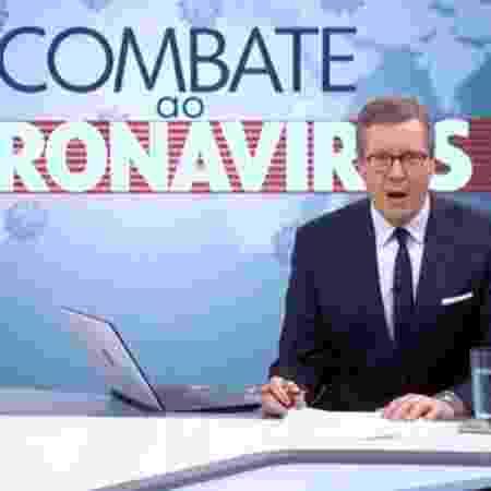 """Márcio Gomes no """"Combate ao Coronavírus""""  - Reprodução / Internet"""