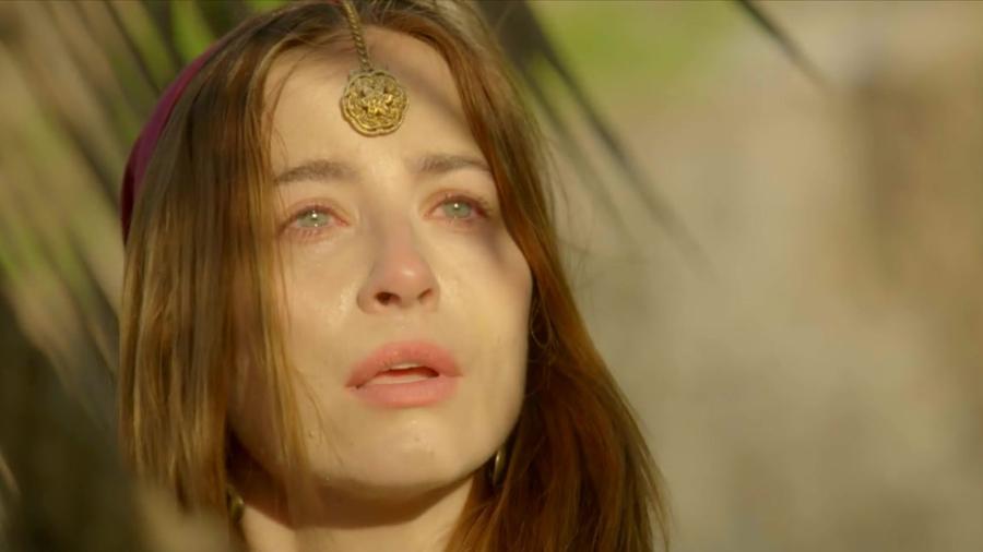 Rebeca (Bárbara França) em Gênesis (Divulgação/Record TV) - Reprodução / Internet
