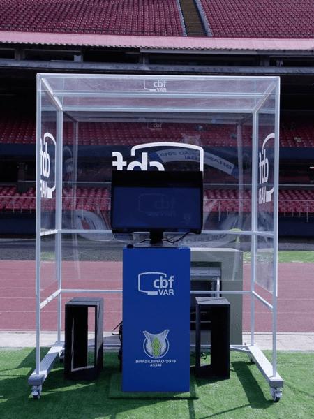 Tecnologia do VAR será usada nas divisões inferiores do futebol brasileiro - Julio Zerbatto/MyPhoto Press/Folhapress