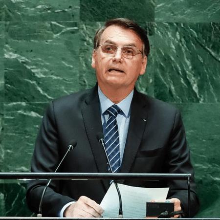 Jair Bolsonaro discursa nesta terça-feira (21) na abertura da Assembleia Geral da ONU  - Foto: Alan Santos/PR