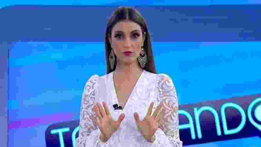 """Chris Flores vai apresentar o novo programa do SBT, """"Notícias Impressionantes"""" - Reprodução / Internet"""