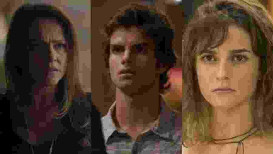 Lili (Vivianne Pasmanter), Fabinho (Daniel Blanco) e Sofia (Priscila Steinman) de Totalmente Demais (Reprodução - TV Globo) - Reprodução / Internet