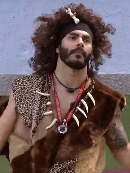 Rodolffo cumpre Castigo do Montro no BBB 21 (Reprodução Globoplay) - Reprodução / Internet