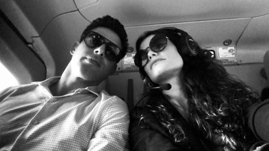 """Alinne Moraes e Cauã Reymond viverão o casal Bárbara e Renato em """"Um Lugar ao Sol"""", nova novela das nove da TV Globo. (Reprodução/Instagram) - Reprodução / Internet"""