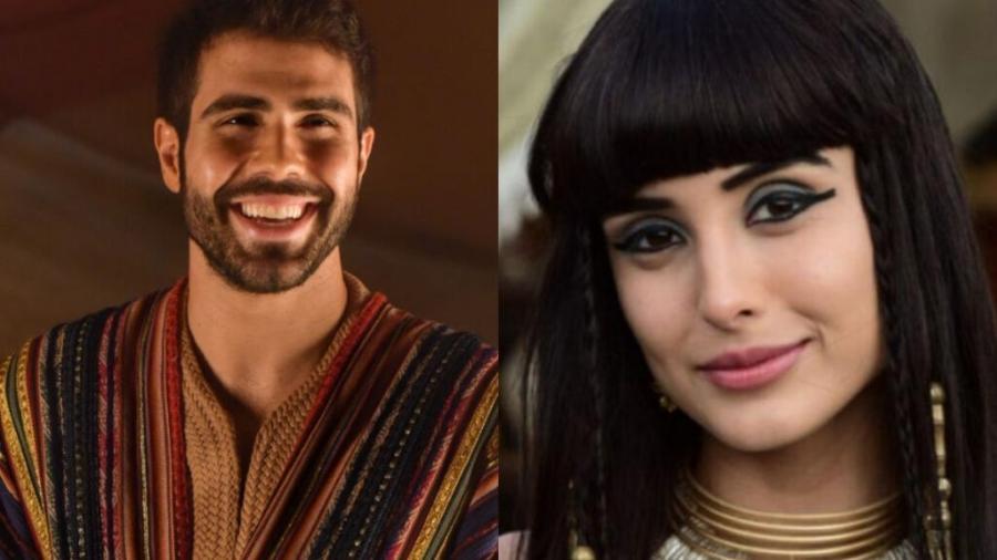 Juliano Laham e Letícia Almeida são José e Asenate em Gênesis (Divulgação) - Reprodução / Internet