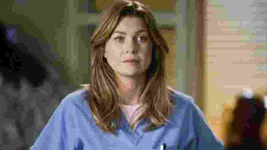 Meredith Grey (Ellen Pompeo), a protagonista de Grey´s Anatomy, cuja 16ª temporada é exibida pela rede ABC nos EUA -