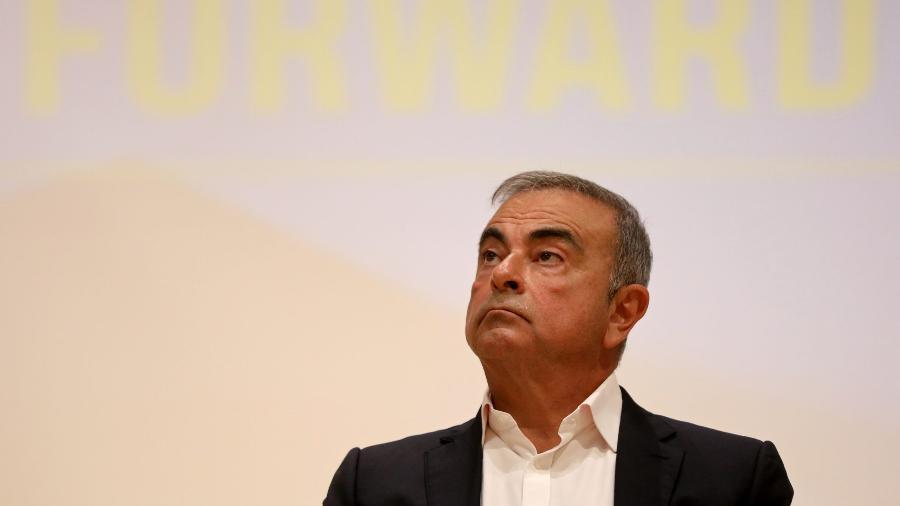 Carlos Ghosn, ex-presidente da Nissan e da Renault - Mohamed Azakir/Reuters