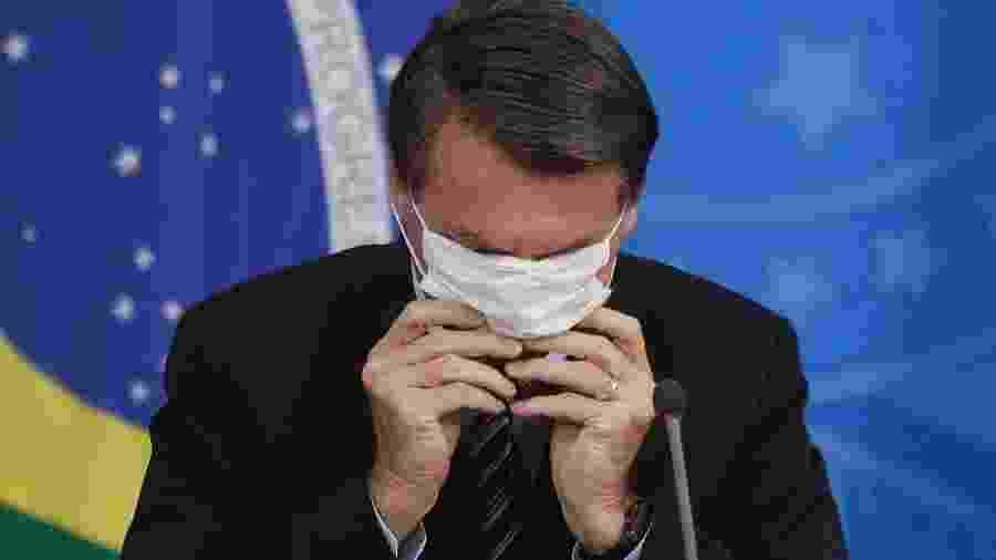 Jair Bolsonaro (sem partido), presidente do Brasil                              -                                 DIDA SAMPAIO/ESTADãO CONTEúDO