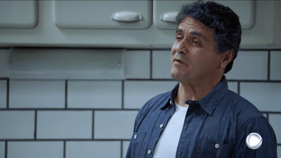 Felipe (Jandir Ferrari) em cena da novela Apocalipse (Reprodução / Record TV) - Reprodução / Internet
