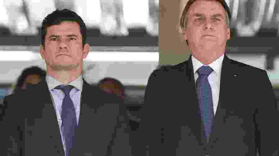 Bolsonaro e Moro: o preço da lealdade é a eterna vigilância - Marcos Corrêa/PR