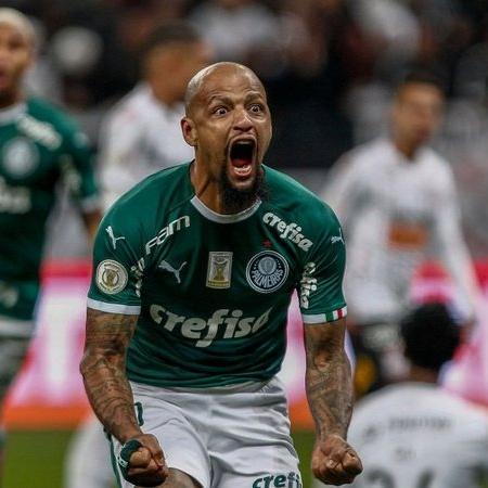 Felipe Melo é um dos líderes do Palmeiras - GettyImages