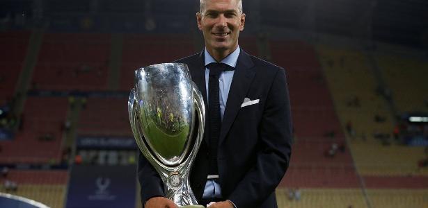 Zidane já conquistou seis taças no comando do Real Madrid