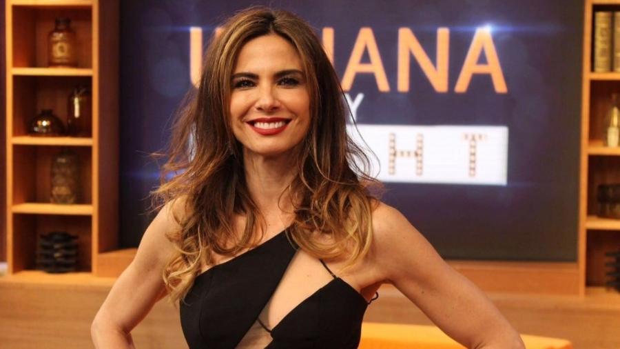 Luciana Gimenez tem contrato com vencimento previsto para março deste ano - REDE TV!/DIVULGAÇÃO