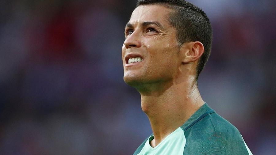 Cristiano Ronaldo em ação na Rússia, pela Copa das Confederações - John Sibley/Reuters