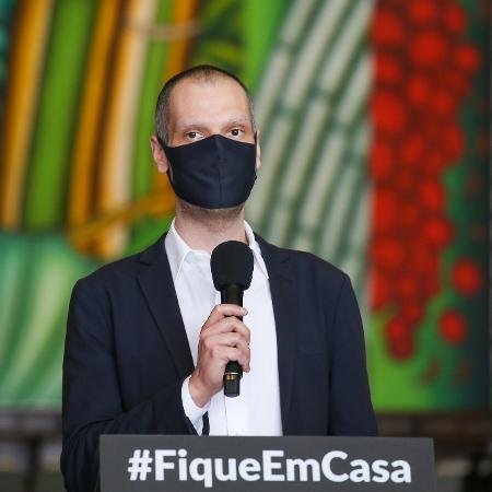 O prefeito de São Pauo, Bruno Covas (PSDB),  -  Reprodução / Governo de São Paulo .