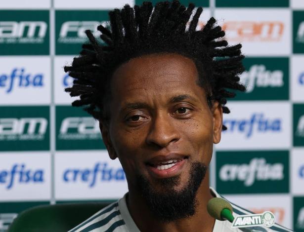 Zé Roberto pode fazer sua última partida com a camisa do Palmeiras no Allianz - Cesar Greco/Ag Palmeiras/Divulgação