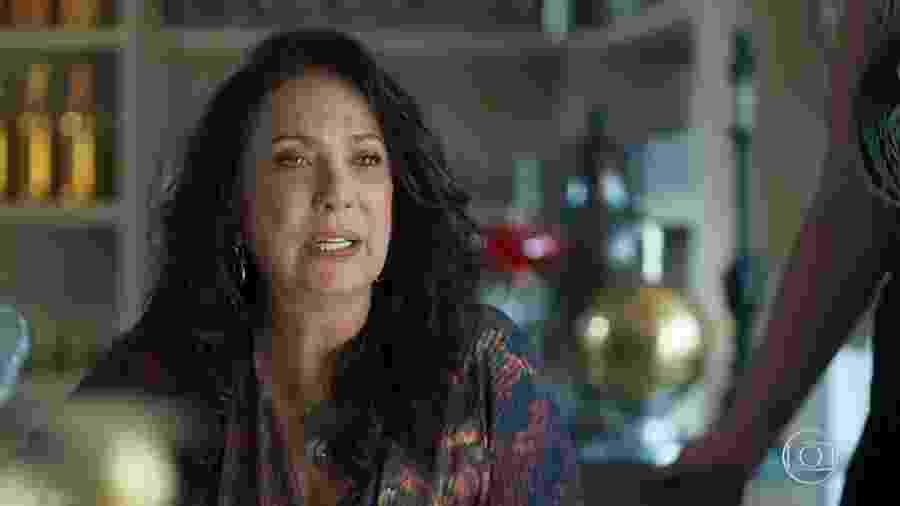 Rania (Eliane Giardini) em Órfãos da Terra (Reprodução) - Rania (Eliane Giardini) em Órfãos da Terra (Reprodução)