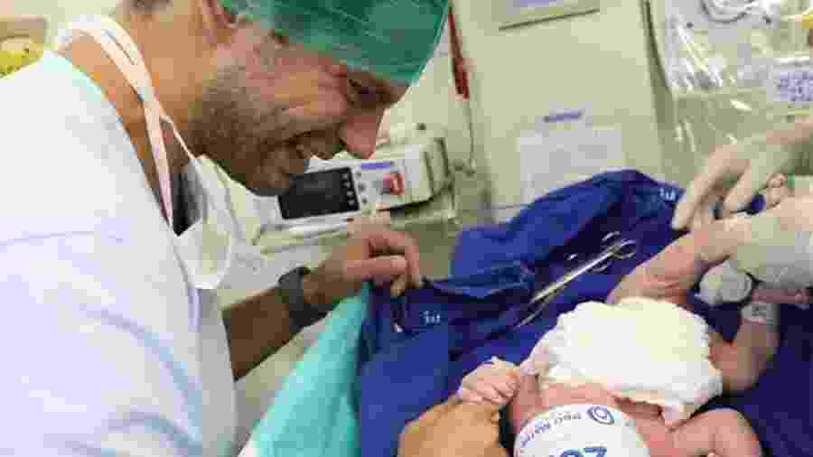 Duda Nagle lembrou o nascimento de Zoe com foto emocionante - Foto: Reprodução/ Instagram - Duda Nagle lembrou o nascimento de Zoe com foto emocionante - Foto: Reprodução/ Instagram