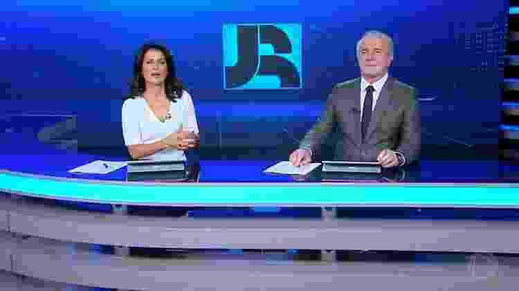 Adriana Araújo e Celso Freitas, apresentadores do Jornal da Record - Reprodução/Record TV
