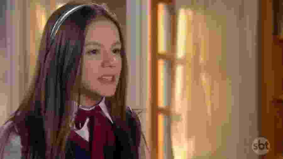 Bela Fernandes como Filipa em As Aventuras de Poliana (Reprodução / SBT) - Bela Fernandes como Filipa em As Aventuras de Poliana (Reprodução / SBT)