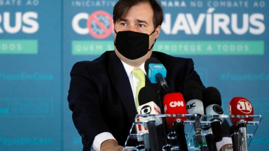 Rodrigo Maia, presidente da Câmara.  -  Maryanna Oliveira/Câmara dos Deputados