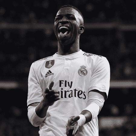 Real Madrid: Após ser destaque no El Clásico, Vinicius Jr foi eleito o melhor jogador de fevereiro - GettyImages