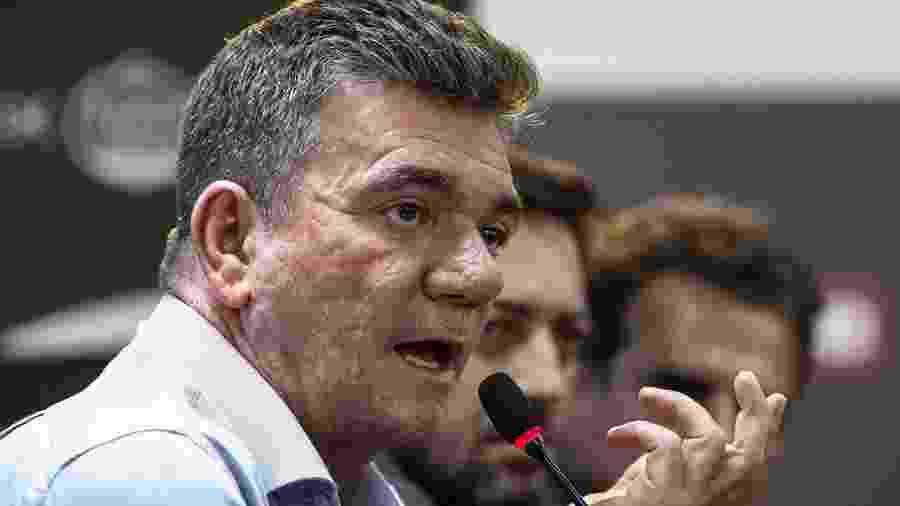 Presidente Andrés Sanchez e Corinthians tentam se defender de cobrança da Prefeitura - Rodrigo Gazzanel/Agência O Dia/Estadão Conteúdo