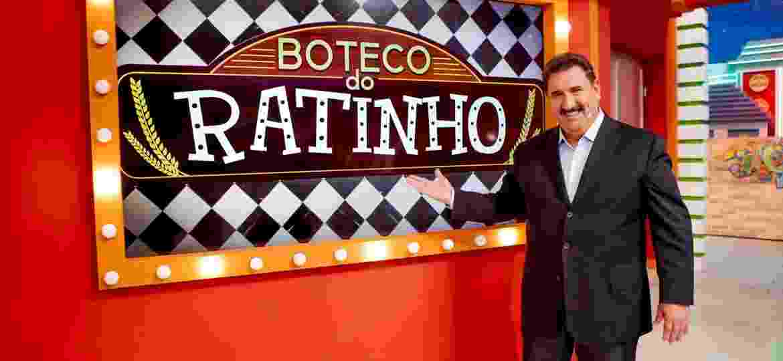 Ratinho em seu Boteco do Ratinho  - Lourival Ribeiro/SBT