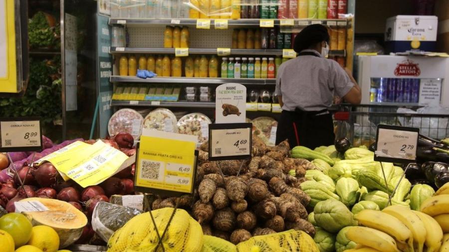Supermercado na zona sul do Rio de Janeiro.                              -                                 Tânia Rêgo/Agência Brasil