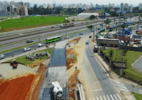 Obra da Linha Verde interdita faixa da Andrômeda perto da Dutra na próxima semana, em São José - Adenir Britto/PMSJC