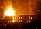 Ciência: o que o Brasil perdeu com o incêndio do Museu Nacional? - Um incêndio maciço engole o Museu Nacional do Rio de Janeiro, um dos mais antigos do Brasil (AFP PHOTO / STR)