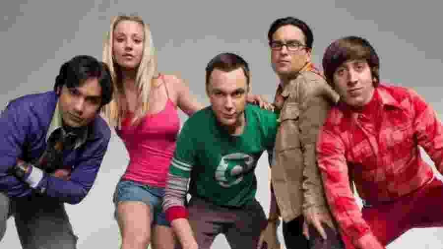 """Série """"nerd  """"The Big Bang Theory"""" pode ser vista no serviço Globo Play - Reprodução / Internet"""