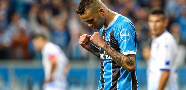 Luan, do Grêmio está em negociação para o futebol da Rússia, no Spartak