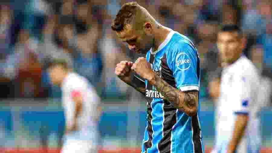 Grêmio terá 35 dias para recuperar Luan (foto) e ajustar time antes da semifinal - Getty Images