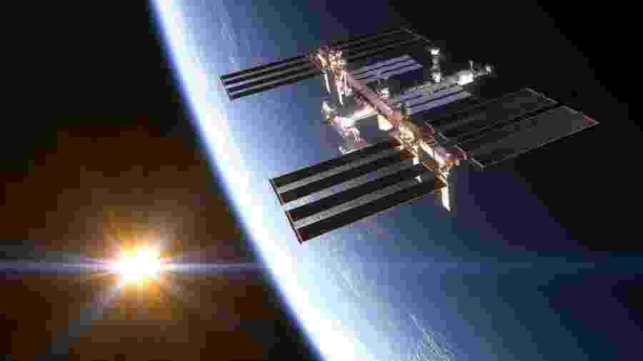 Estação Espacial Internacional - 3DSculptor/iStock