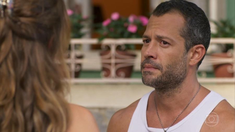 Tancinha (Mariana Ximenes) e Apolo (Malvino Salvador) em Haja Coração (Reprodução/TV Globo). - Reprodução / Internet