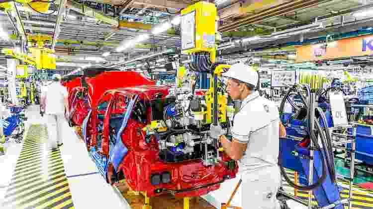 Fábrica da Fiat em Betim (MG) - Divulgação - Divulgação