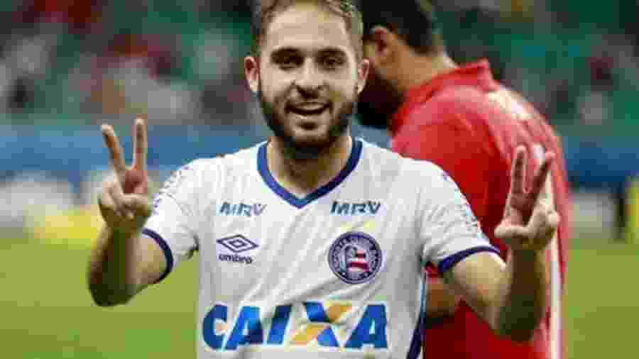 Meia do Bahia está recuperado de lesão muscular na perna direita - Felipe Oliveira/Divulgação/ECBahia