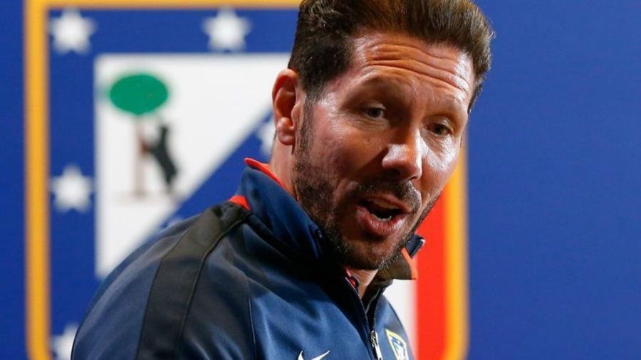 Simeone está no comando do Atlético desde 2011 - Michael Dalder/Reuters