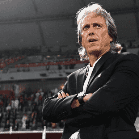 Jorge Jesus em ação pelo Flamengo - GettyImages