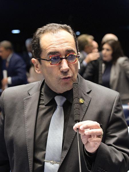 Jorge Kajuru é diabético e descumpriu orientação médica para votar a reforma da Previdência - Roque Sá/Agência Senado
