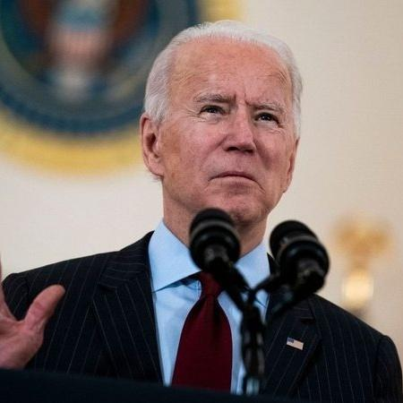 Joe Biden, presidente dos EUA - Getty Images