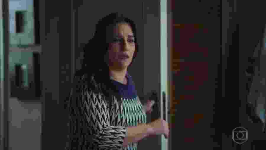 Aline (Simone Gutierrez), de Órfãos da Terra (Reprodução) - Aline (Simone Gutierrez), de Órfãos da Terra (Reprodução)