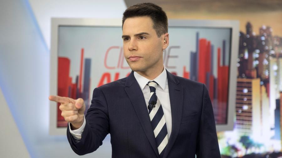 Luiz Bacci, apresentador do Cidade Alerta, na Record TV  - Divulgação/Record TV