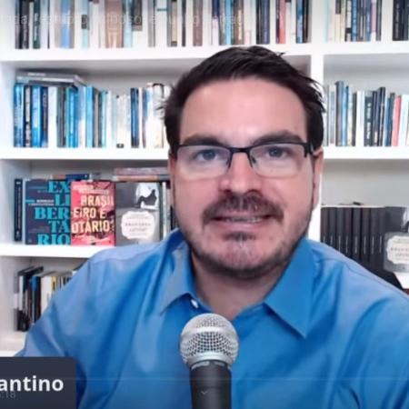Rodrigo Constantino em live no seu canal do Youtube - Rodrigo Constantino em live no seu canal do Youtube