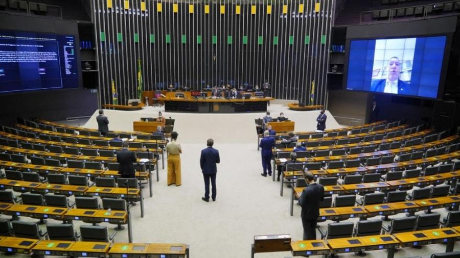 Câmara encerra sessão sem votar MP do consignado; texto deve ser apreciado amanhã - Pablo Valadares/Câmara dos Deputados