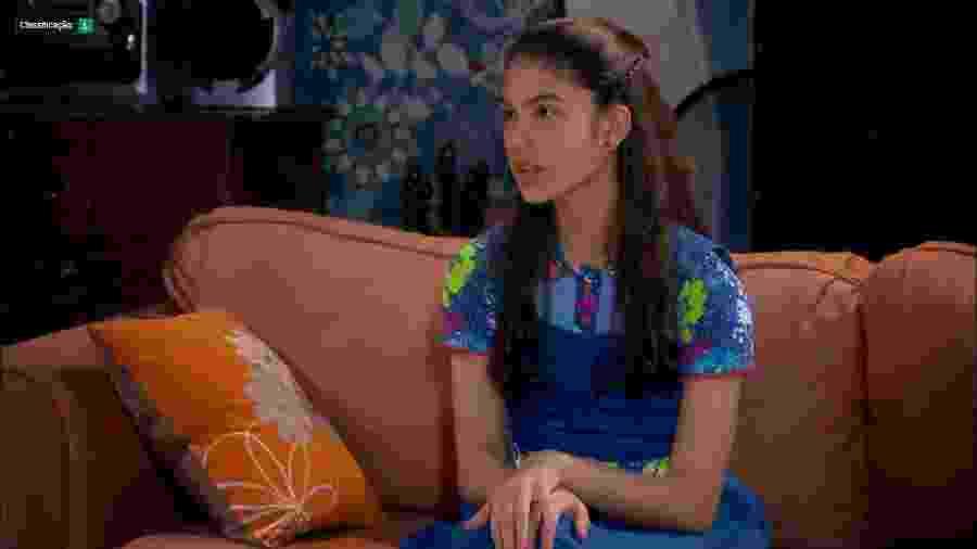 Mili (Giovanna Grigio) em cena de Chiquititas (Reprodução / SBT) - Reprodução / Internet