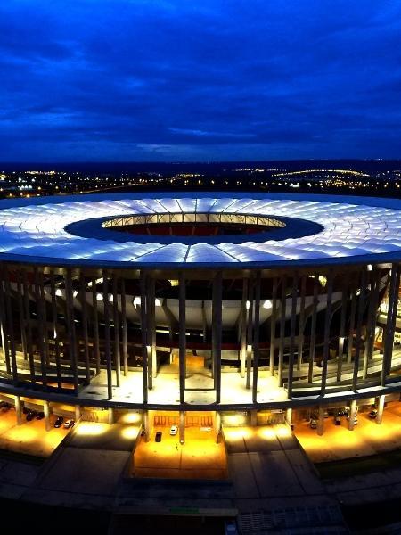 Estádio Mané Garrincha, que pode receber jogos de Palmeiras e Santos - Reprodução / Internet