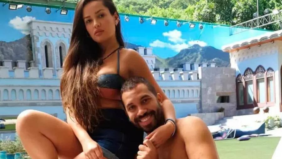 Gil e Juliette no BBB 21 (Reprodução/Globo) - Reprodução / Internet